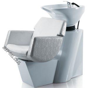 כיור חפיפה למספרה עם כסא 78106