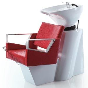 כיור חפיפה למספרה עם כסא 78113