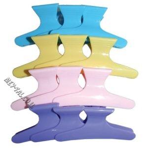קליפס פלסטיק צבעוני גדול