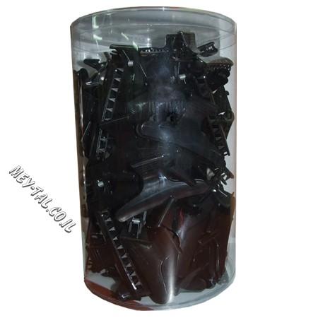 קליפס פלסטיק 72 שחור
