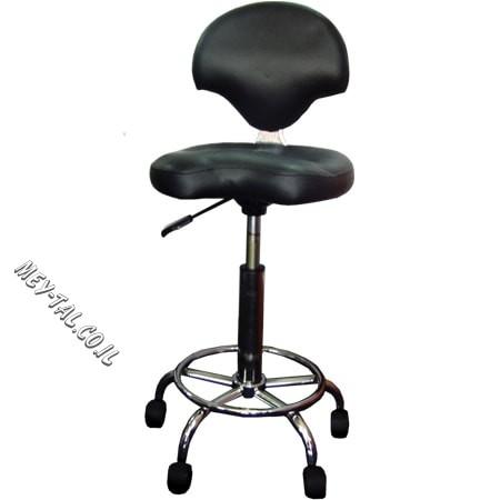 כסא לספר עם גב