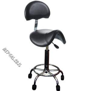 כסא אוכף לספר עם גב