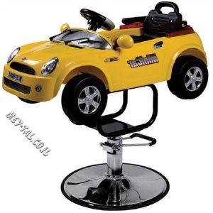 כסא ילדים למספרה דגם מכונית